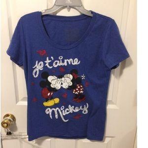 Minnie and Mickey Tee